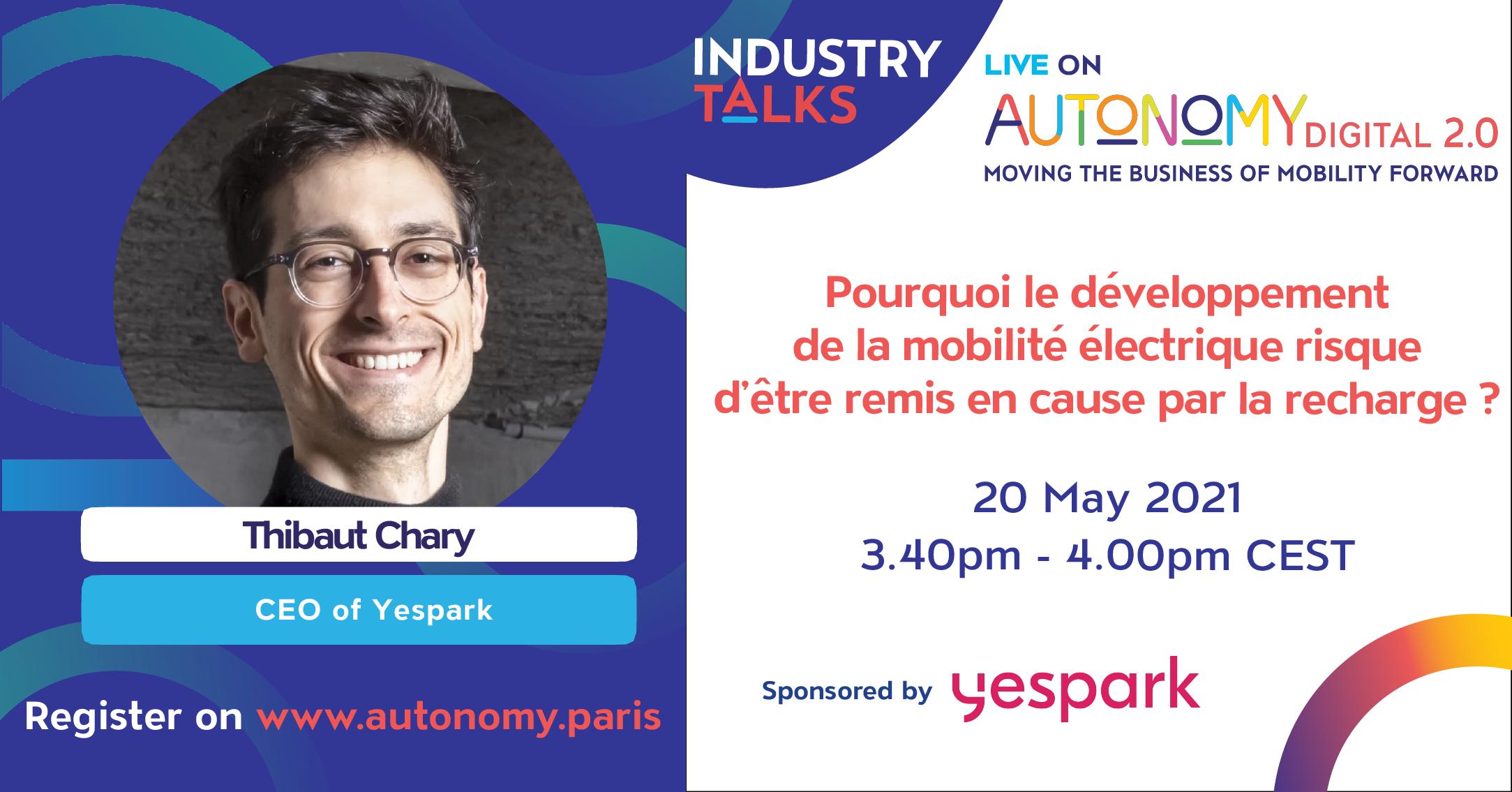 Yespark participe au digital autonomy