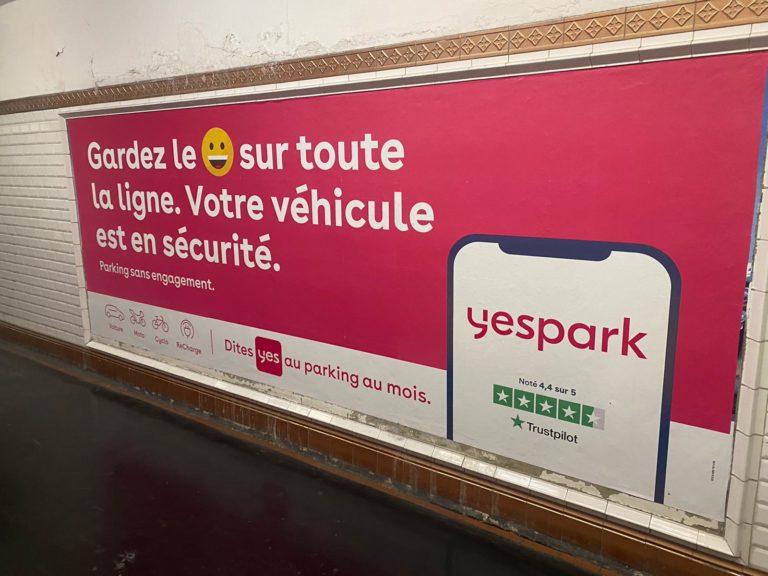 yespark publicite